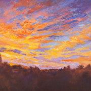 Perfect Start Sunrise painting